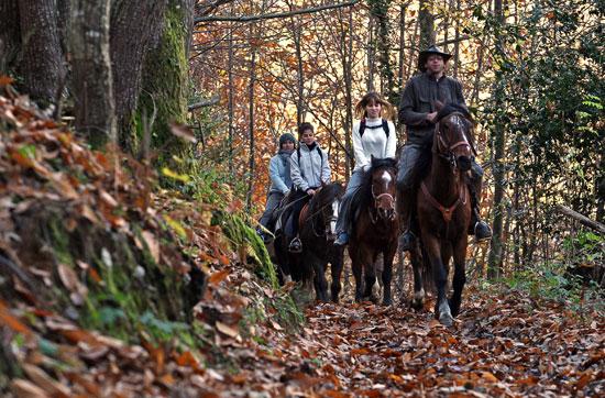 Asturias con niños: Paseos a caballo en Teverga este sábado